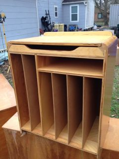 Paper divider- solid wood. Price is firm