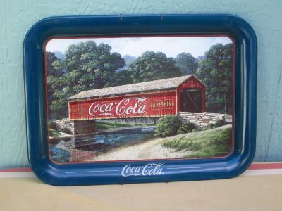 Large Collectible Coca~Cola Tray
