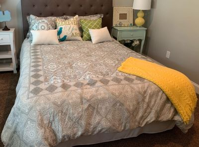 Queen Size Comforter and Pillows