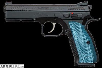 For Sale: BNIB CZ Shadow 2 Blue 9mm