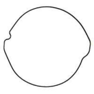 Sell Moose Clutch Cover Gasket Fits 02-04 Honda CR250R motorcycle in Holland, Michigan, US, for US $8.21