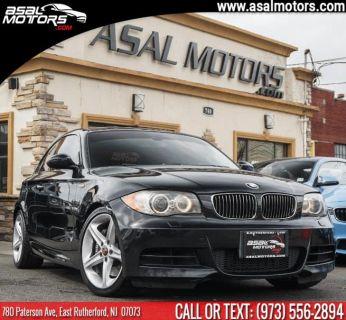 2008 BMW 1-Series 135i (Black Sapphire Metallic)