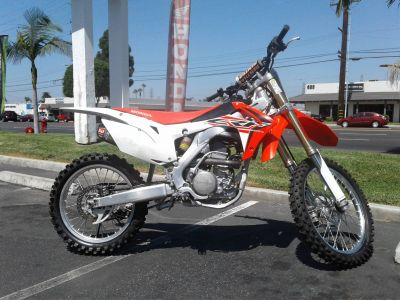 2015 Honda CRF250R Motocross Motorcycles Orange, CA