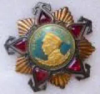 RUSSIAN SOVIET MILITARY ORDER NAKHIMOV LENIN PATRIOTIC WAR MEDAL