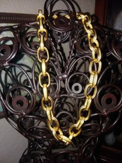 Givenchy Gold Tone Chain Signed