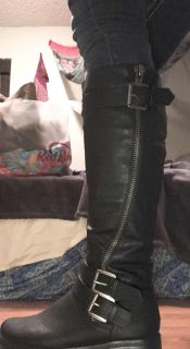 Black Maurice s Nancy Riding Boots 7 bought for $80 never worn