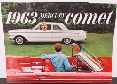Buy 1963 Mercury Dealer Prestige Sales Brochure Comet Station Wagon Large Rare motorcycle in Holts Summit, Missouri, United States, for US $29.63