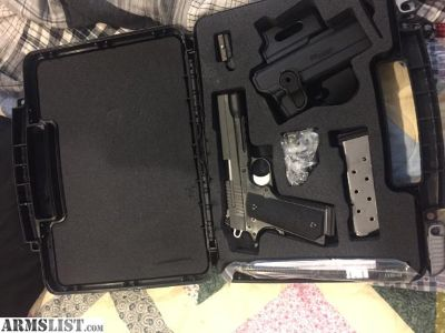 For Trade: Sig 1911 Tacops BNIB Never Fired