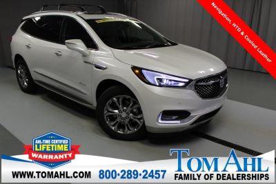 2018 Buick Enclave Avenir AWD, Sunroof, NAV (White Frost Tricoat)