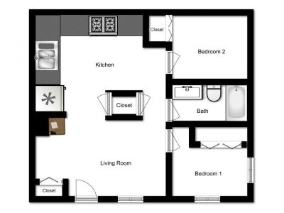 23 bedroom in Muscatine