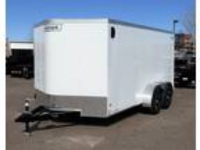 2019 Haulmark 7x14TA Enclosed Cargo Trailer - White
