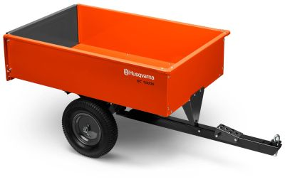 2018 Husqvarna 12 Cu. Ft. Steel Swivel Dump Cart Dump Trailers Trailers Hancock, WI