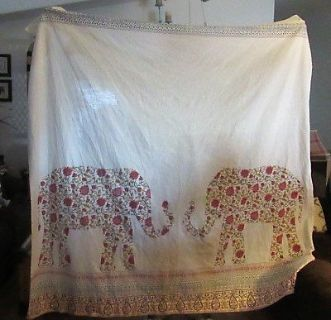 elephant shower curtain new in excellent condition