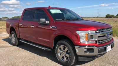 2018 Ford F-150 XLT 4WD SuperCrew 5.5' Box (RUBY RED METALLIC TINTED CLEARCOAT)