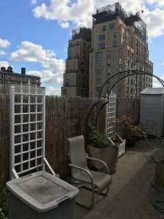 LARGE FURN Bedroom in UWS Penthouse w access to HUGE PRIVATE TERRACE!
