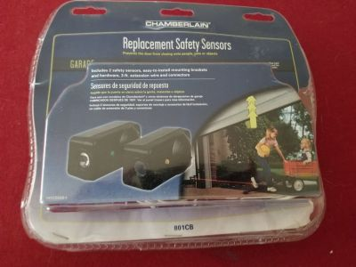 Safety sensors for garage doors or any