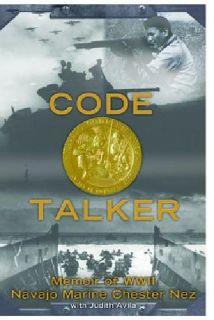 """$30 """"Code Talker"""" hardcover memoir, autograhed by Chester Nez, Judith Avila"""