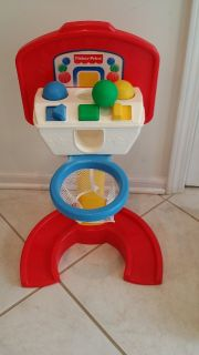 Infant/Toddler Fisher-Price Baby Basketball Hoop and Balls