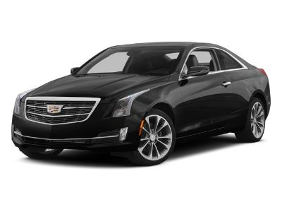 2015 Cadillac ATS Coupe Luxury AWD (Crystal White Tricoat)