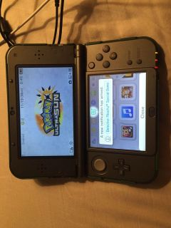 Nintendo 3DS with Charger and Game