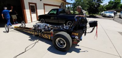 Nostalgia Front Inline Dragster