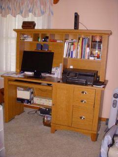 49 inch computer desk; lots of storage