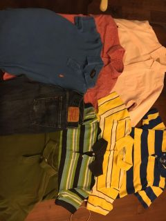 Boys shirts and jeans