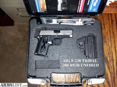 For Sale: SIG P-238 TRIBAL - RARE