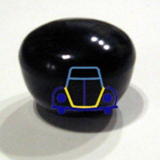 Shifter Knob, Black, 12mm