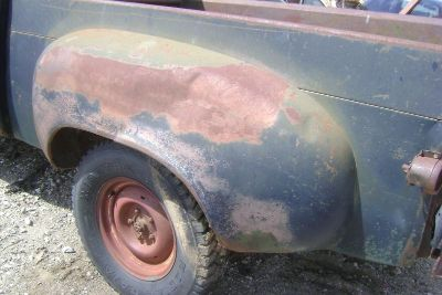 Sell 1949 49 Studebaker Pickup Truck LEFT REAR FENDER SOLID 1950 50 1951 51 1952 1953 motorcycle in Great Bend, Kansas, US, for US $350.00