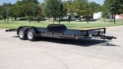 "2018 MAXXD TRAILERS 20' X 83"" CHANNEL CAR HAULER Equipment Trailer Trailers Elk Grove, CA"