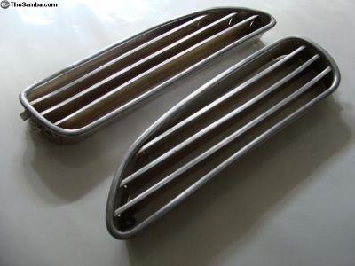 Ghia Front Air Grills - pair