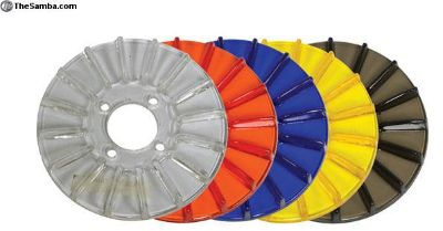 Colored Plastic Pulley Back Plates