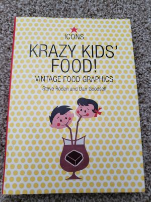 Collector's book with vintage Food graphics we all remember!