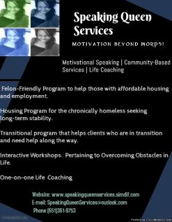 Motivational Speaking/Workshops
