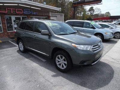 2013 Toyota Highlander Base (Green,Dark)
