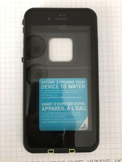 New! LIFEPROOF FRE for iPhone 7/8 Plus (Black and Green)