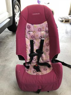 Cosco highback booster seat