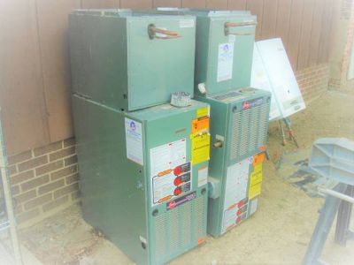 GARAGE FURNACE/AIR CONDITIONER