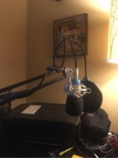 Professional microphone computer stand