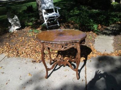 EAST LAKE ANTIQUE TABLE