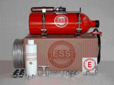 ESS Fire Suppression Systems