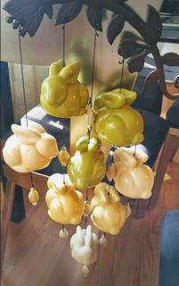 Penelope Bell Wind Chime Bunnies