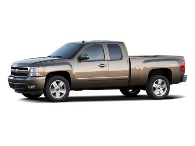 2008 Chevrolet Silverado 1500 Work Truck (Dark Blue Metallic)
