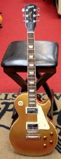 2012 Gibson USA Les Paul Standard Gold Top Electric Guitar