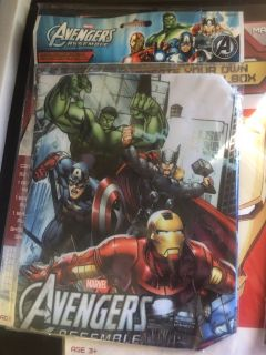 Avengers fabric book cover