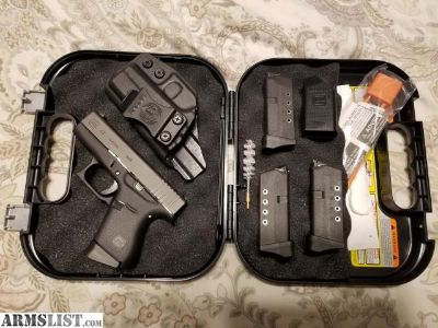 For Sale: Glock 43 and xds 3.3 for sale