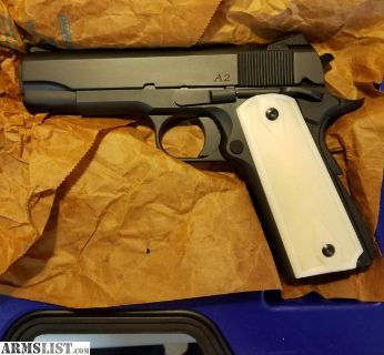 For Sale/Trade: Dan Wesson A2 Commander 45ACP *Limited # Made*