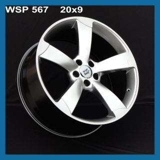 Purchase WSP Wheels W567 Giasone 20x9 Rims For Audi RS5 A4 A5 A6 A7 A8 S4 S5 S6 S7 S8 RS7 motorcycle in Glendale, California, US, for US $1,299.00