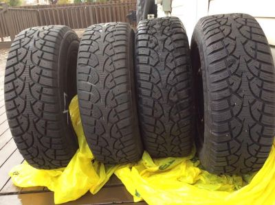 WINTER TIRES WITH RIMS - 205/65/R15